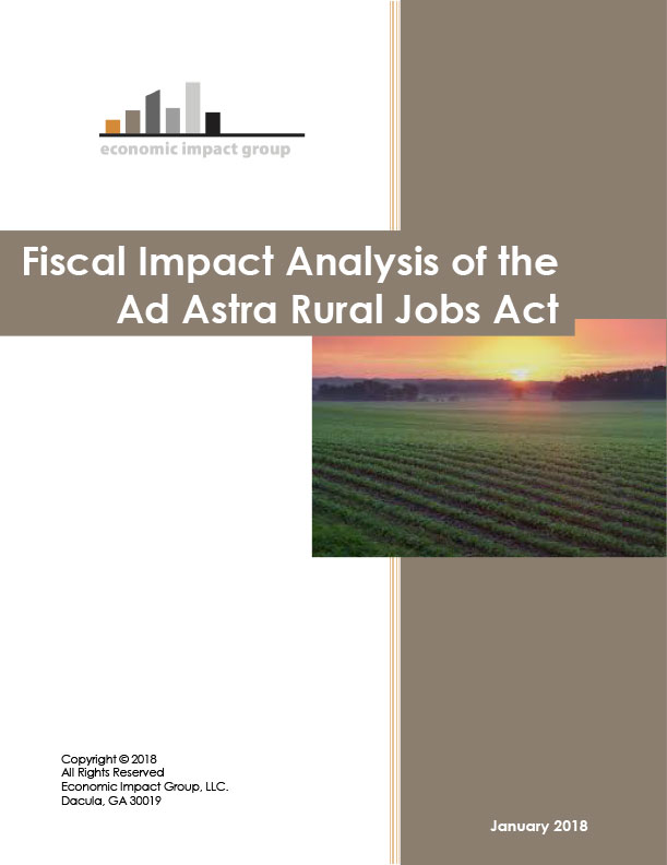 Fiscal Impact Analysis for Ad Astra Rural Jobs Act