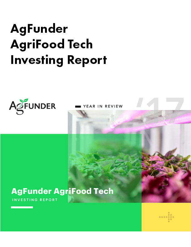 AgriFood Tech Investing Report