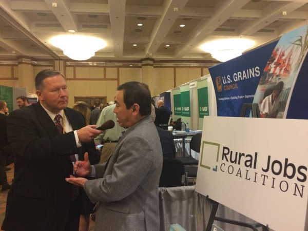 Rural Jobs Coalition Attends the National Association of Farm Broadcasting (NAFB) Trade Talk